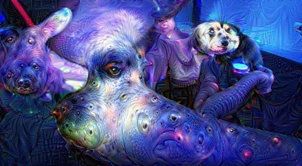 Erotic inspiration on Saturday - DeepDream