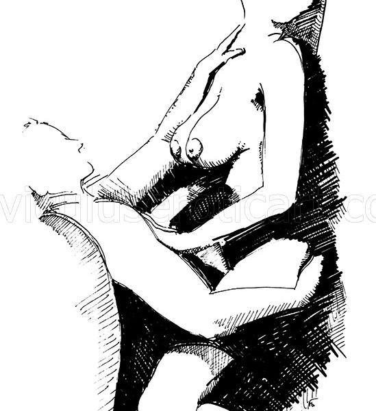 erotic love in illustration