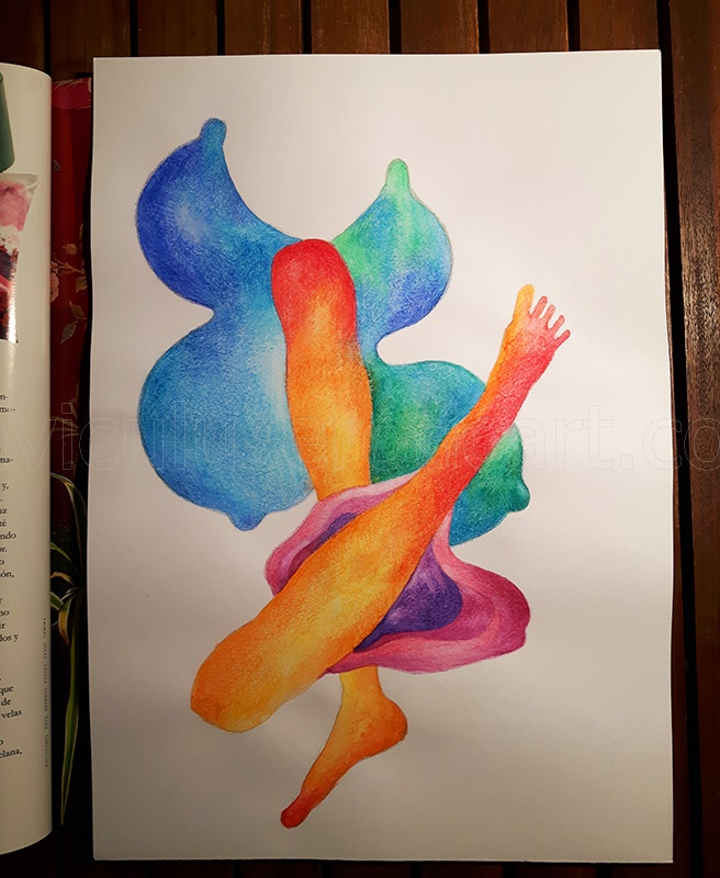 drawing / painting - Agnieszka Niechciał