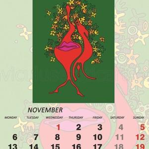 Erotic November 2017