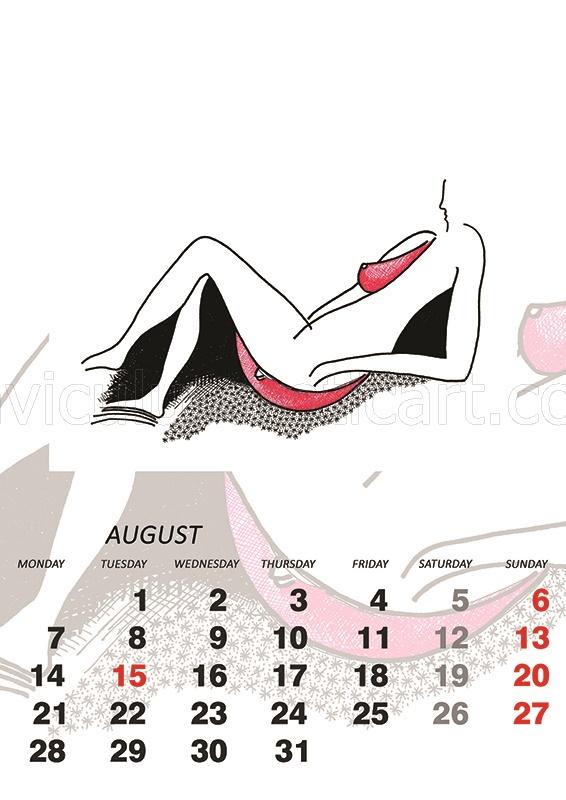 sensual calendar