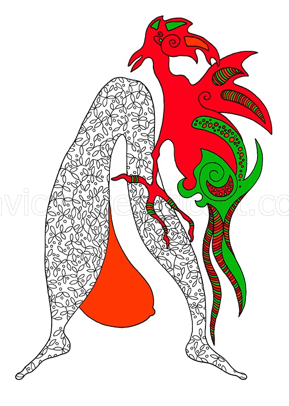 erotic mascot