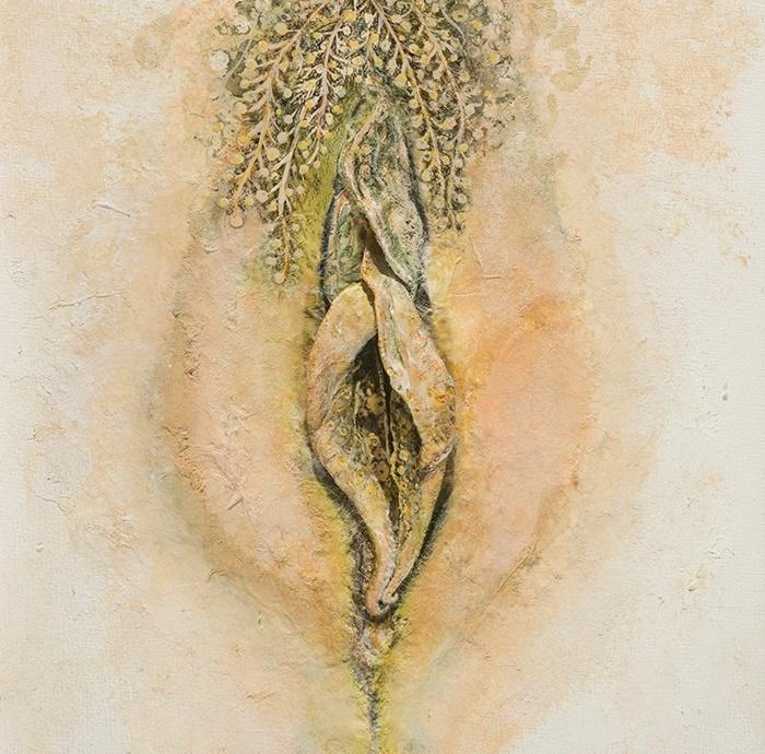 female eroticism in the illustration