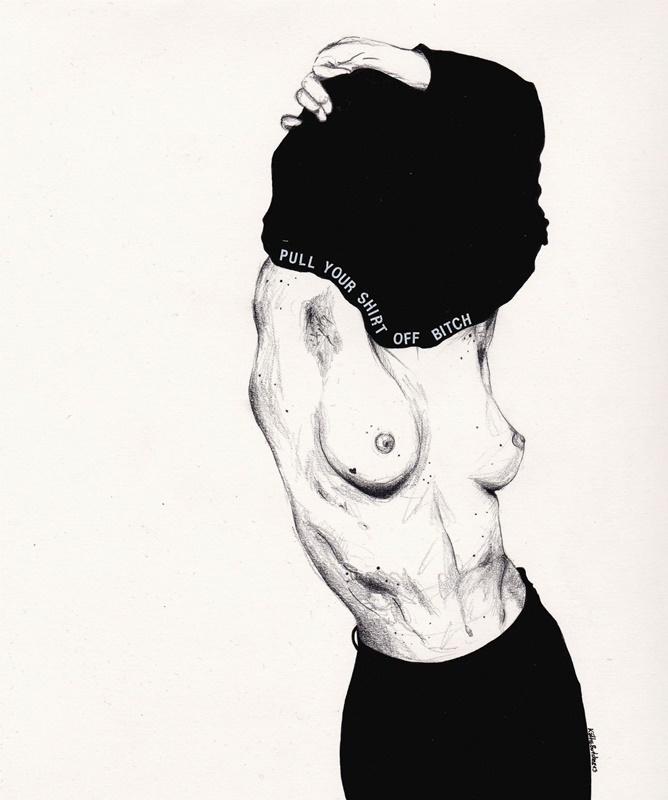 woman in erotica