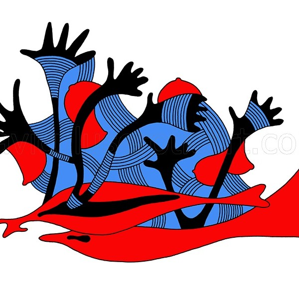 kolorowy wzór dekoracyjny