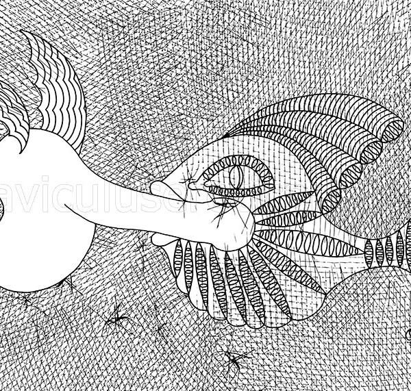 ilustracja czarno-biała
