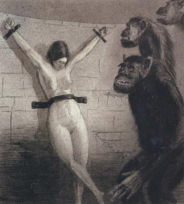 kobieta i zwierzę