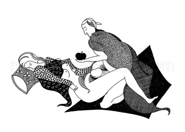 grafika czarno-biała