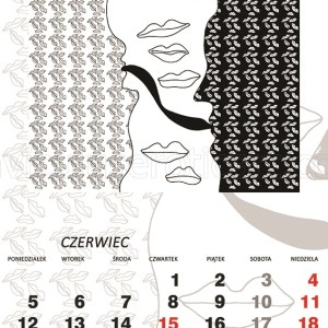 kalendarz erotyczny - akt miłosny