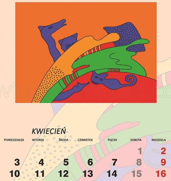 kalendarz erotyczny - Kochankowie