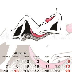 kalendarz erotyczny - Sama