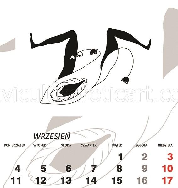 kalendarz erotyczny - Konwalia