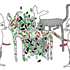 erotyczna grafika dekoracyjna
