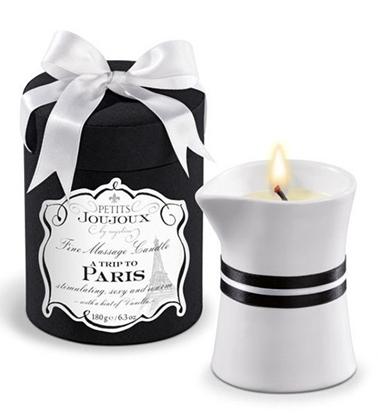 Świeca do masażu A trip to Paris - Petits Joujoux Fine