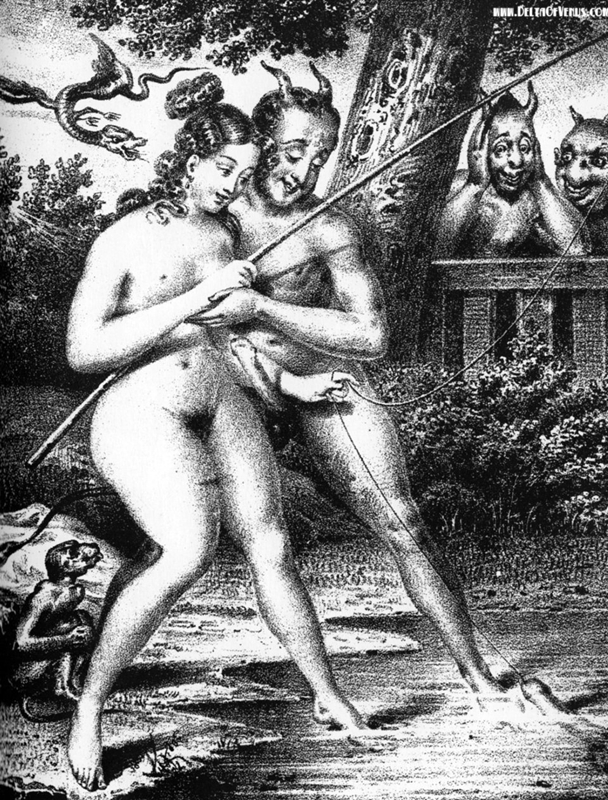 erotyzm w rysunku